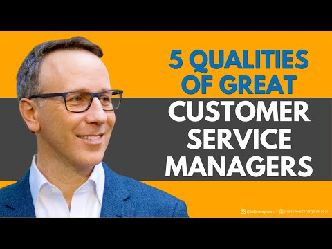 , title : '5 Qualities of Great Customer Service Managers