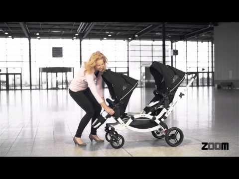Zoom Geschwisterwagen Zwillingswagen von ABC Design 1