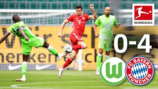 VfL Wolfsburg vs. FC Bayern München I 0-4 I Title Celebrations, Top Goalscorer and Great Goals