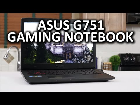 ASUS G751 Gaming Notebook Review - better version linked in video description