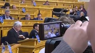 Вести - СПб: В парламенте ЛО принятие бюджета отметили музыкальным представлением