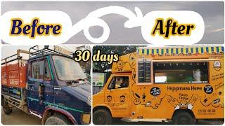 Making Of Food Truck , Food Van, Believe It!