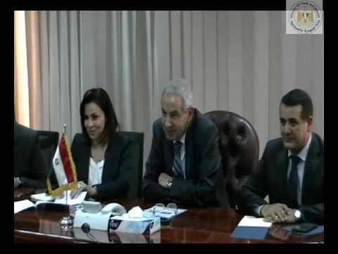 لقاء المهندس/طارق قابيل وزير التجارة والصناعة مع وزير خارجية البرتغال