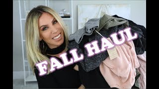 FALL TRY-ON FASHION HAUL!  Over 35 Fashion