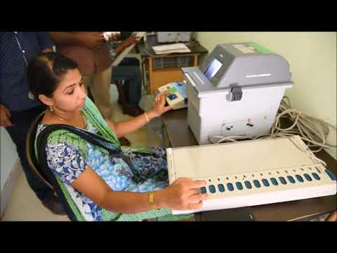 VVPAT Demonstration