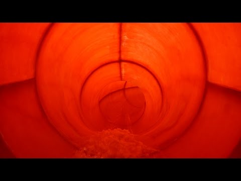 De Waterhoorn - Röhrenrutsche | rode glijbaan (Black Hole)