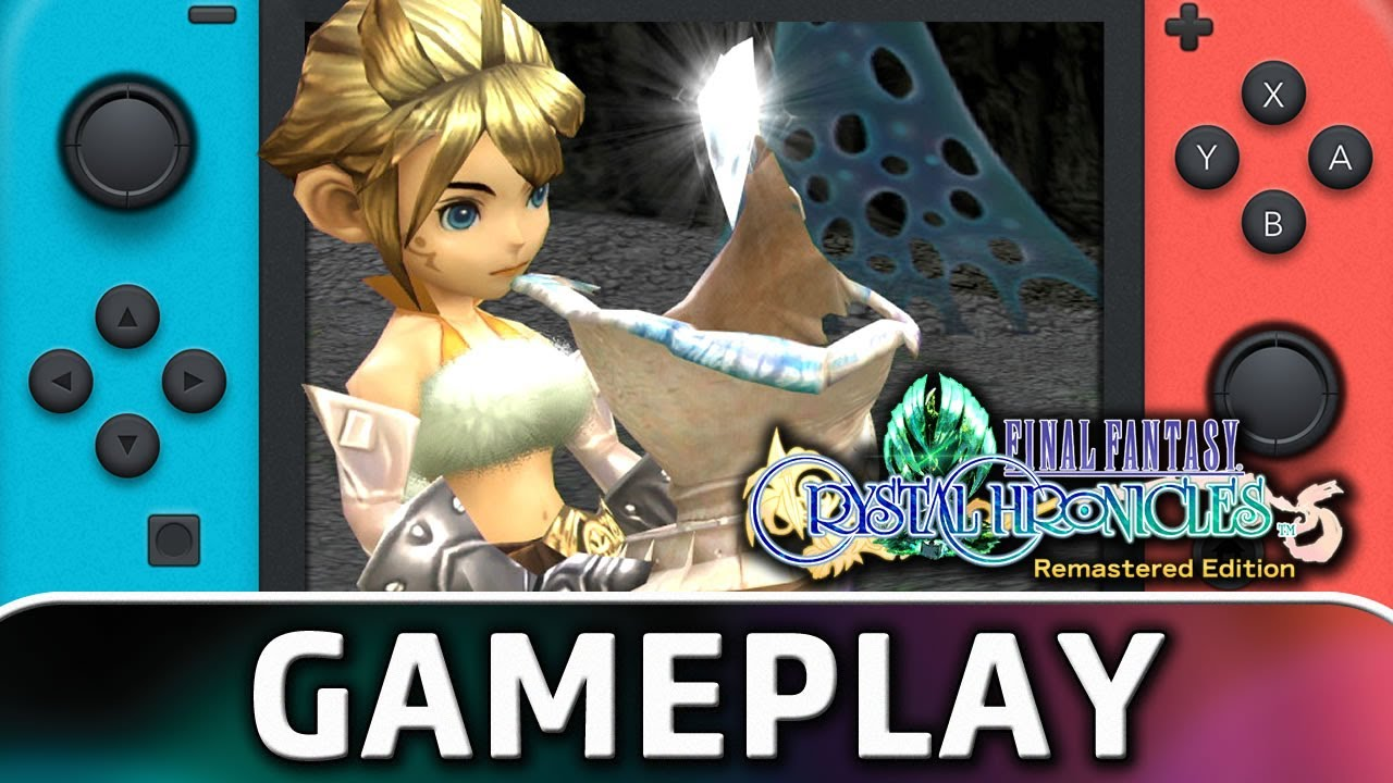 FINAL FANTASY CRYSTAL CHRONICLES Remastered Edition | Nintendo Switch Gameplay