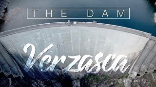 Val Verzasca Switzerland   The famous dam & Bungee Jump   Drone Video