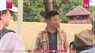 Chinese tourists say 'I do' to Serbia