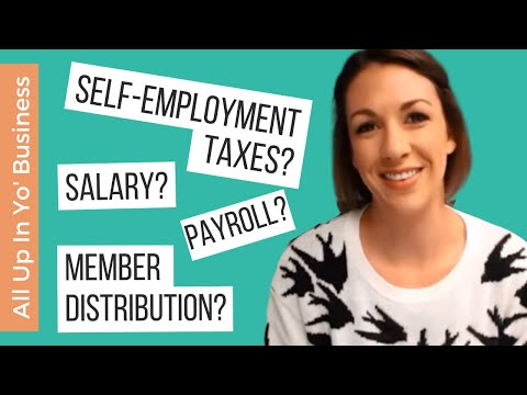 How Do I Pay Myself in a Single-Member LLC? - All Up In Yo' Business