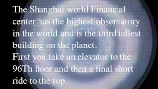 preview picture of video 'A journey to the top of the Shanghai world financial center by paul shoul'