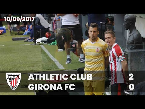 ⚽ FULL MATCH I LaLiga 17/18 I M3 Athletic Club 2 – Girona FC 0
