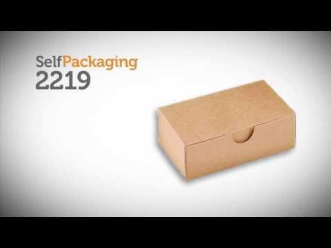 Caja para tarjetas de visita - Vídeo de montaje ref. 2219 SelfPackaging