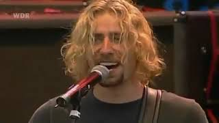 Nickelback - Sad But True (LIVE - Metallica Cover)