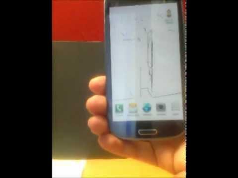 Video of Flip-To-Sketch App + Wallpaper