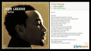 John Legend - I Can Change