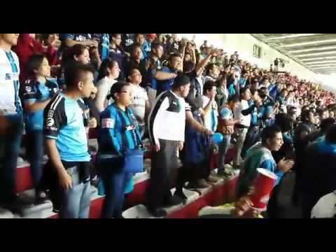 """""""Toluca vs resistencia albiazul 2015"""" Barra: La Resistencia Albiazul • Club: Querétaro"""