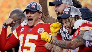 "Patrick Mahomes on Winning AFC Championship, ""Gotta do whatever it took to win games"""