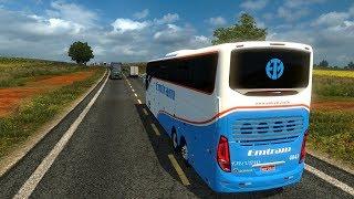 Euro Truck Simulator 2 - VIAJANDO para TODO BRASIL EM TEMPO REAL, CHEGA MAIS VOCÊ TAMBÉM