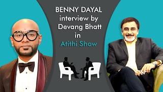 My new interview with Devang Bhatt