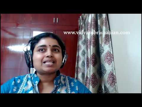 Vidya Subramanian Academy: Online Certification Program in Carnatic Music (FAQs)