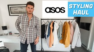 HUGE ASOS STYLING HAUL | Mens Casual Outfit Ideas 2020