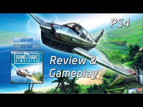 Review and Gameplay | Island Flight Simulator | PS4