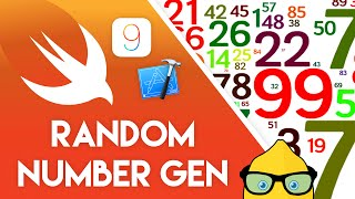 Xcode 7 Swift 2 Tutorial - Random Number Generator - iOS 9 Geeky Lemon Development