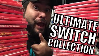 The ULTIMATE Nintendo Switch Game Collection!! | 8-Bit Eric