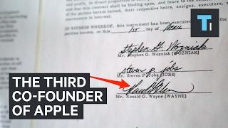 Meet Ronald Wayne, The Forgotten Third Co-Founder Of Apple