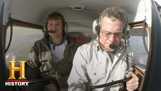 The Return of Shelby the Swamp Man: Searching for Treasure By Air (S1, E4) | History