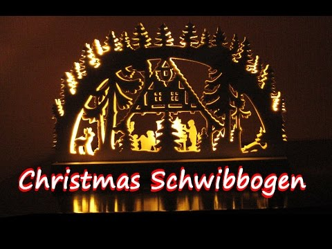 making a Schwibbogen / Christmas Arch - woodworking