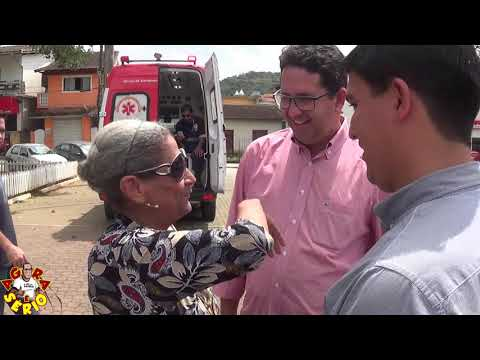Prefeito Arizinho e Vereadores apresentam a conquista da nova frota de veículos de São Lourenço da Serra