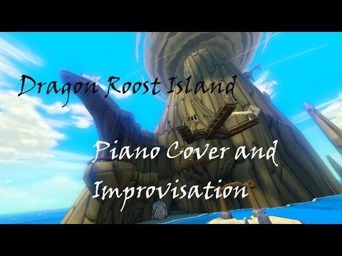 Relajante cover de la Isla del Dragón de The Wind Waker