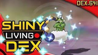 EPIC SHINY TORNADUS REACTION! Live! Quest For Shiny Living Dex #641 | Pokemon ORAS