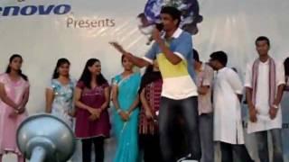 Inumulo o hrudayam robo song's funniest lyrical parody by Abhishek Pathri (Btech,Mech) kluniversity