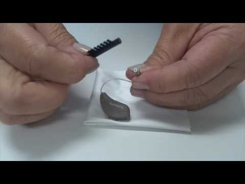 How to Clean a RIC (Receiver-in-the-canal) Hearing Aid