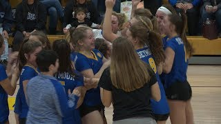 Waterford falls to Seymour in Class M volleyball final