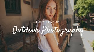 TOP 5 Outdoor Fashion Photography Portrait Tips + Techniques