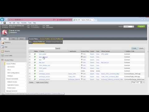 F5 APM Configuration Demo - YouTube
