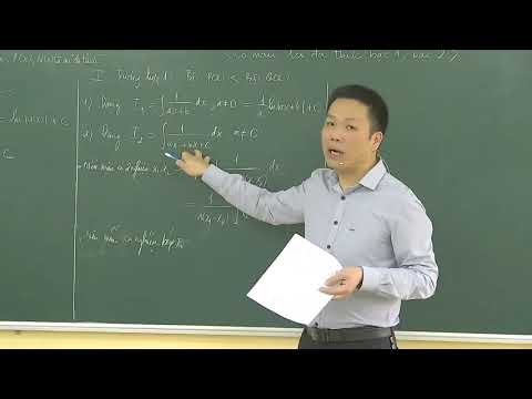 Môn Toán khối 12 - Nguyên hàm của hàm phân thức hữu tỷ - GV Lý Đức Vân - Trường THPT Sông Lô