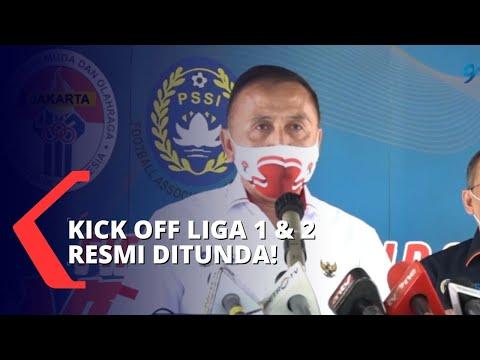 tidak dapat izin dari kepolisian pssi tunda kick off liga satu