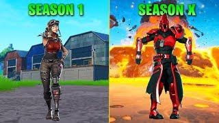 Evolution Of Season Dances In Fortnite (Season 1   Season X)