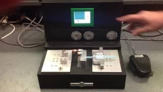 Vante Jade Dual Dilator catheter tipping machine