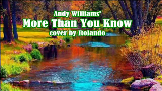 Andy Williams' MORE THAN YOU KNOW -cover