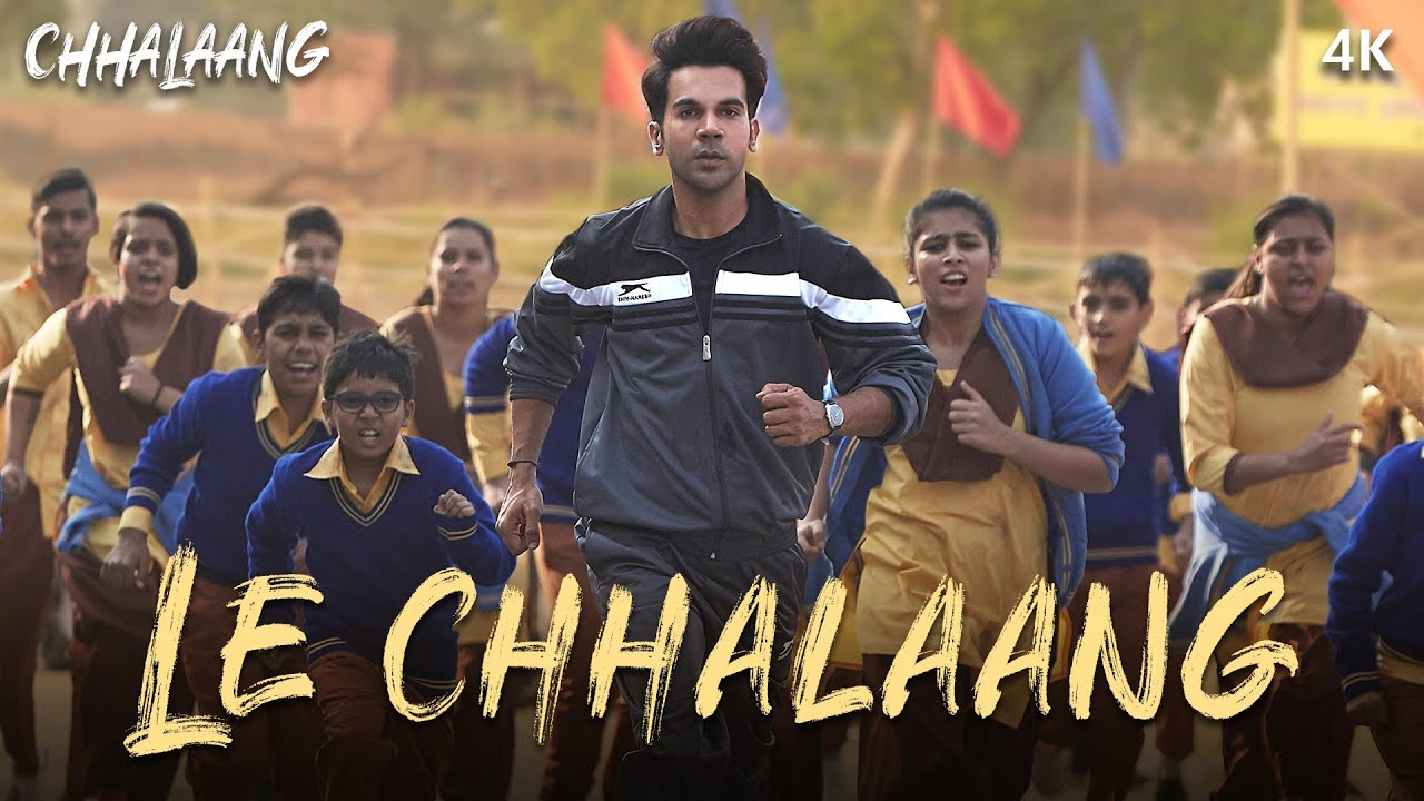 Le Chhalaang Lyrics - Chhalaang Full Song Lyrics| Rajkummar R, Nushrratt B - Lyricworld