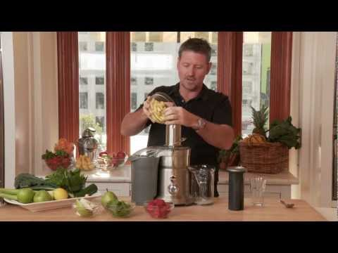Video How to Juice at Home Using the Breville Juice Extractor with Joe Cross | Williams-Sonoma