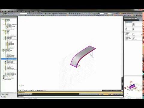Easy modelling in SCIA Engineer