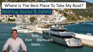 Best Place To Go Boating? How to Boat Safely 2019!