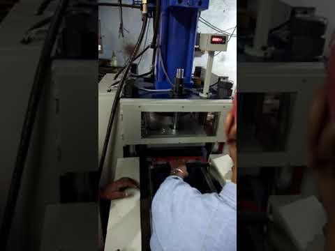 Hydro Pneumatic Blister Sealing & Cutting Machine